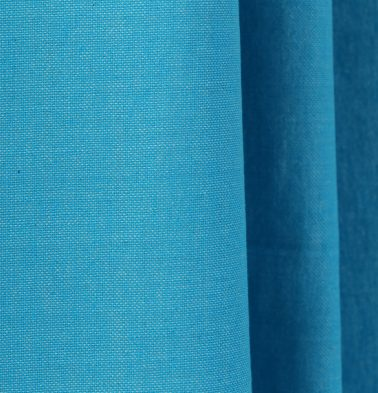 Chambray Cotton Custom Stitched Cloth Scuba Blue