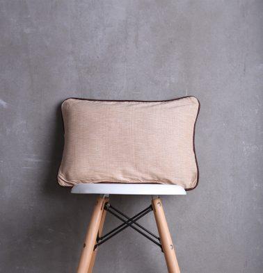 Textura Cotton Cushion cover Beige/Brown 12