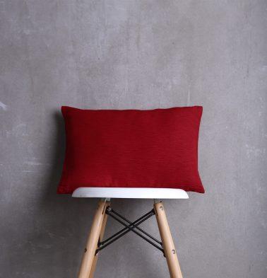 Textura Cotton Cushion cover Maroon 12