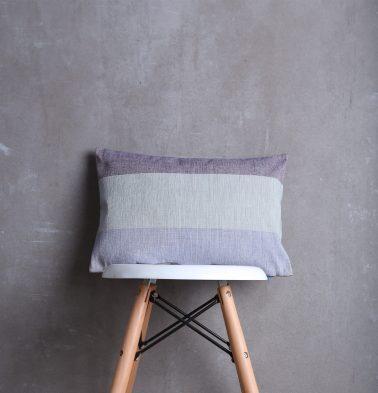 Textura Cotton Cushion cover Petal Fog 12