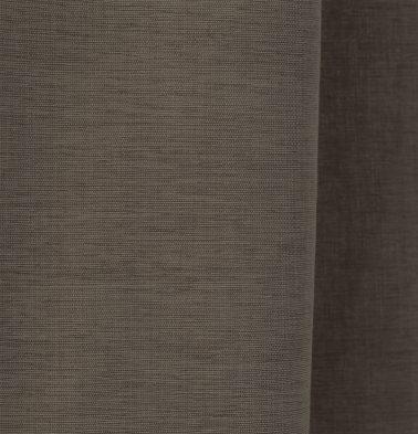 Textura Cotton Custom Floor Cushion Caribou Brown