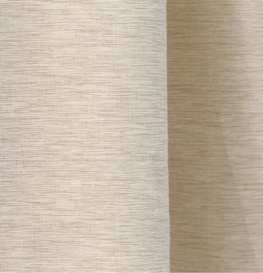 Textura Cotton Custom Floor Cushion Fog Beige