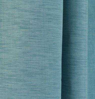 Textura Cotton Custom Stitched Cloth Teal Blue