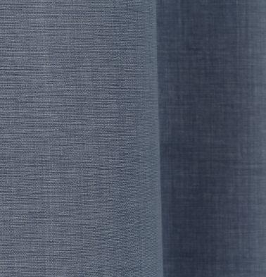 Textura Cotton Custom Floor Cushion Tempest Blue