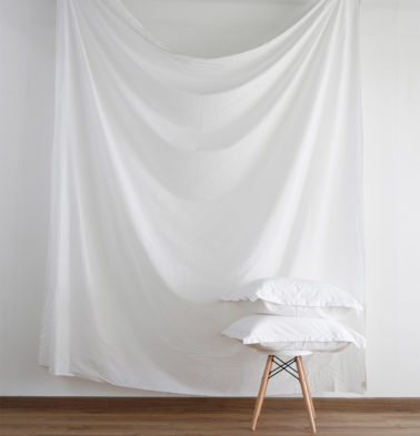 Solid Cotton Duvet Cover White
