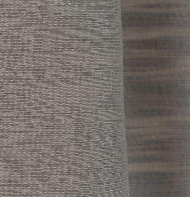 Slub Cotton Custom Blinds Opal Grey