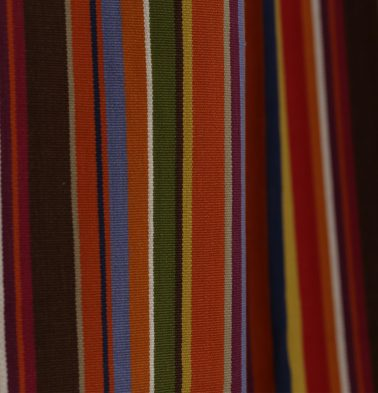 Stripes Cotton Custom Floor Cushion Multi-color