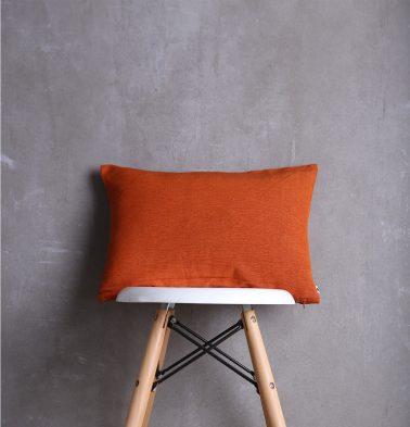Textura Cotton Cushion Cover Orange 12
