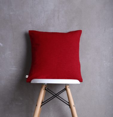 Textura Cotton Cushion cover Red  16