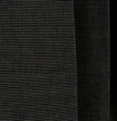 Textured Cotton Fabric Black
