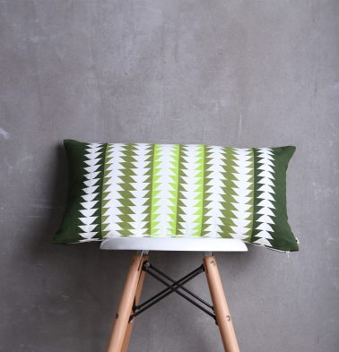 Arrows Printed Cushion cover Green 12