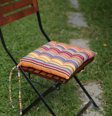 Cotton Chairpad Multi Color