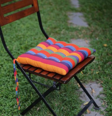 Cotton Chairpad Stripe