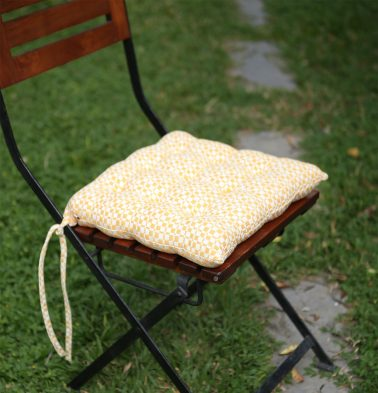 Cotton Chairpad Yellow