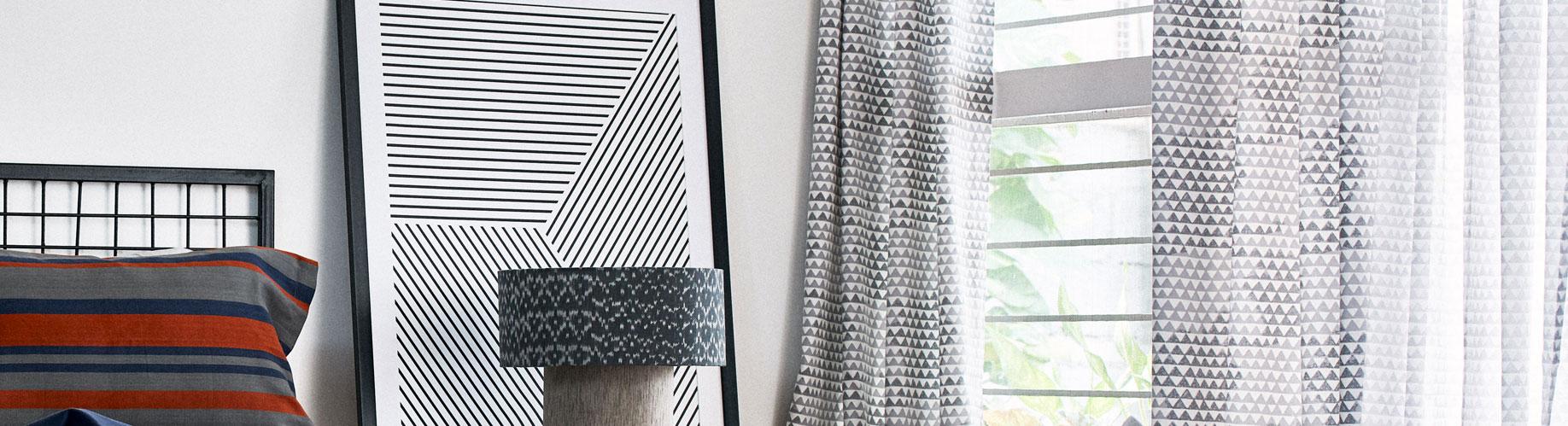 Customizable Cotton Curtains