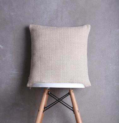 Beige Cotton Cushion cover