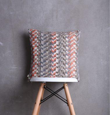 Ikat Cotton Cushion Cover Multi Colour 16