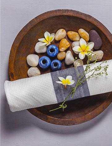 Honeycomb or twill Charcoal Bath Towels