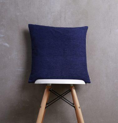 Textura Cotton Cushion cover Navy Blue 18