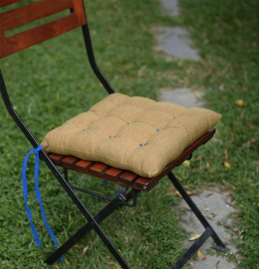 Textura Cotton Chairpad Lark