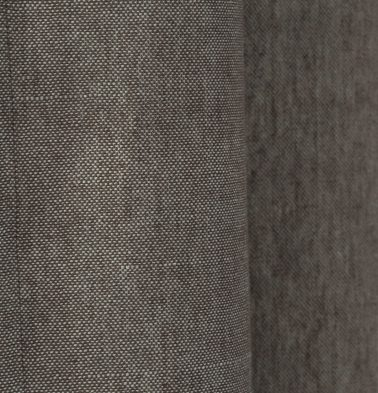 Chambray Cotton Fabric Nickel Grey