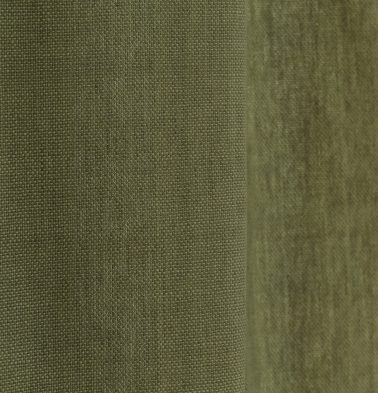 Chambray Cotton Fabric Iguana Green