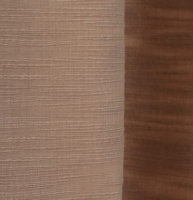 Slub Cotton Fabric Frappe Brown