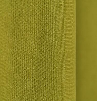 Chambray Cotton Custom Floor Cushion Apple Green