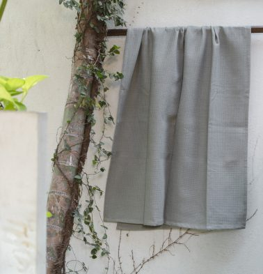 Moon mist Cotton Bath towels Grey