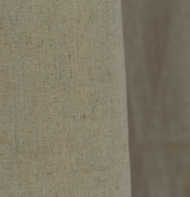 Textured Linen Fabric Flax Beige