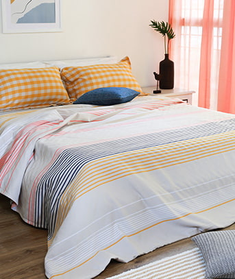 bed sheet made of 100% pure cotton