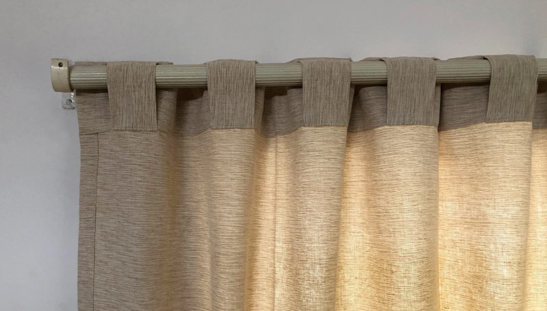 Backtab Curtain Header - Back