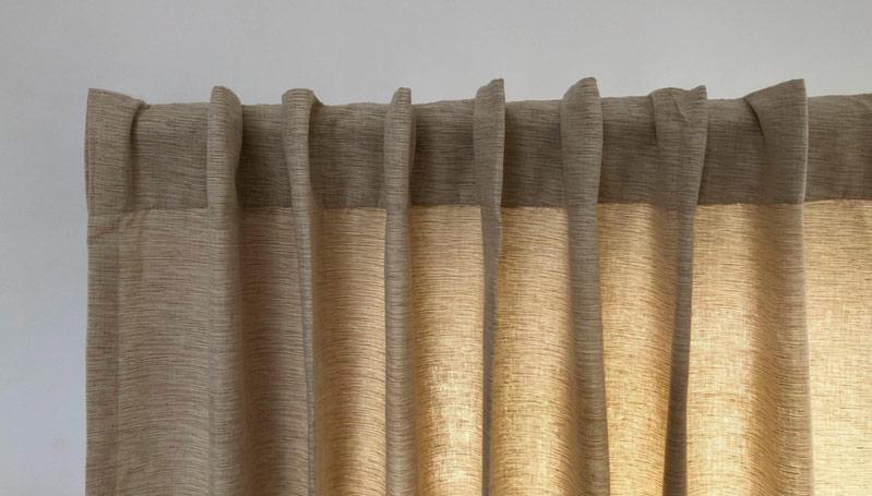 Backtab Curtain Header - Front