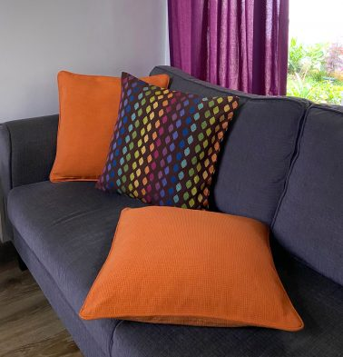 Diamond Cotton Cushion Covers - Bundle of 3