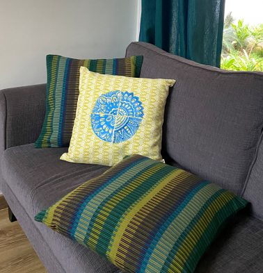 Handwoven Cotton Cushion covers  - Bundle of 3