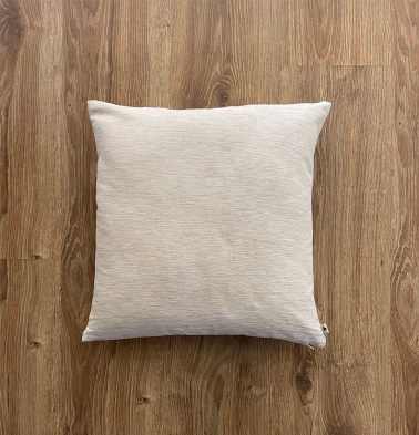 Customizable Cushion Cover, Textura Cotton - Fog Beige