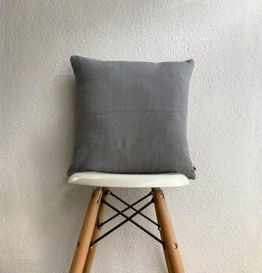 Kadoor Cotton Cushion Cover Slate Grey 16