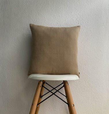Kadoor Cotton Cushion Cover Sand Beige 16