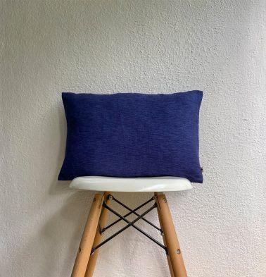 Textura Cotton Cushion cover Navy Blue 12